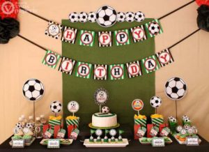 Birthday Party Soccer